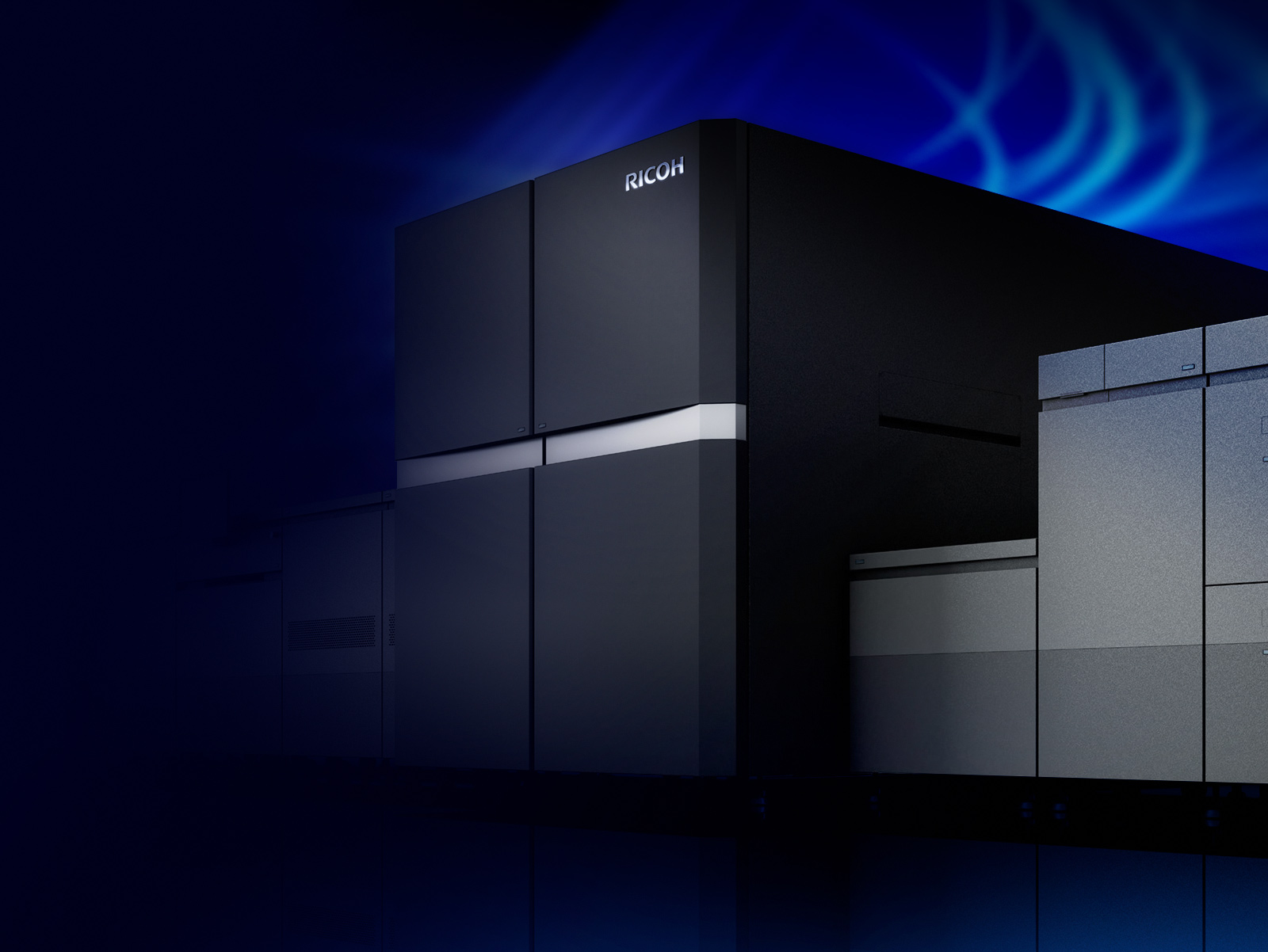 Commercial printers preview the RICOH ProTM Z75 B2 sheetfed inkjet press designed to enable business growth