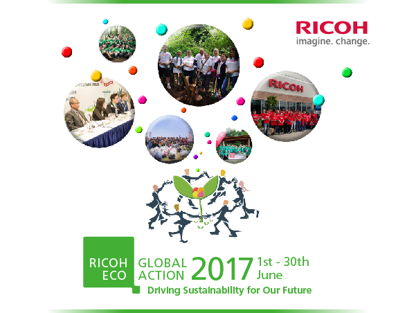 Ricoh Global Eco Action Month